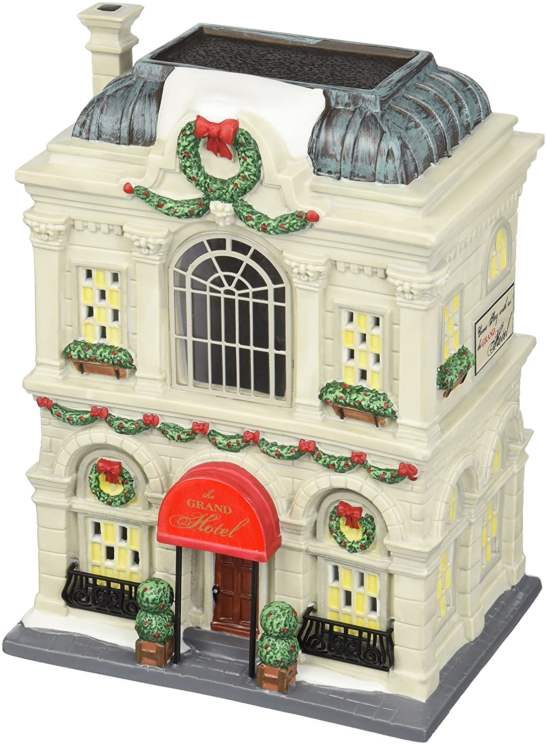 Amazon.com: Department 56 Christmas in the City Village Grand Hotel ...