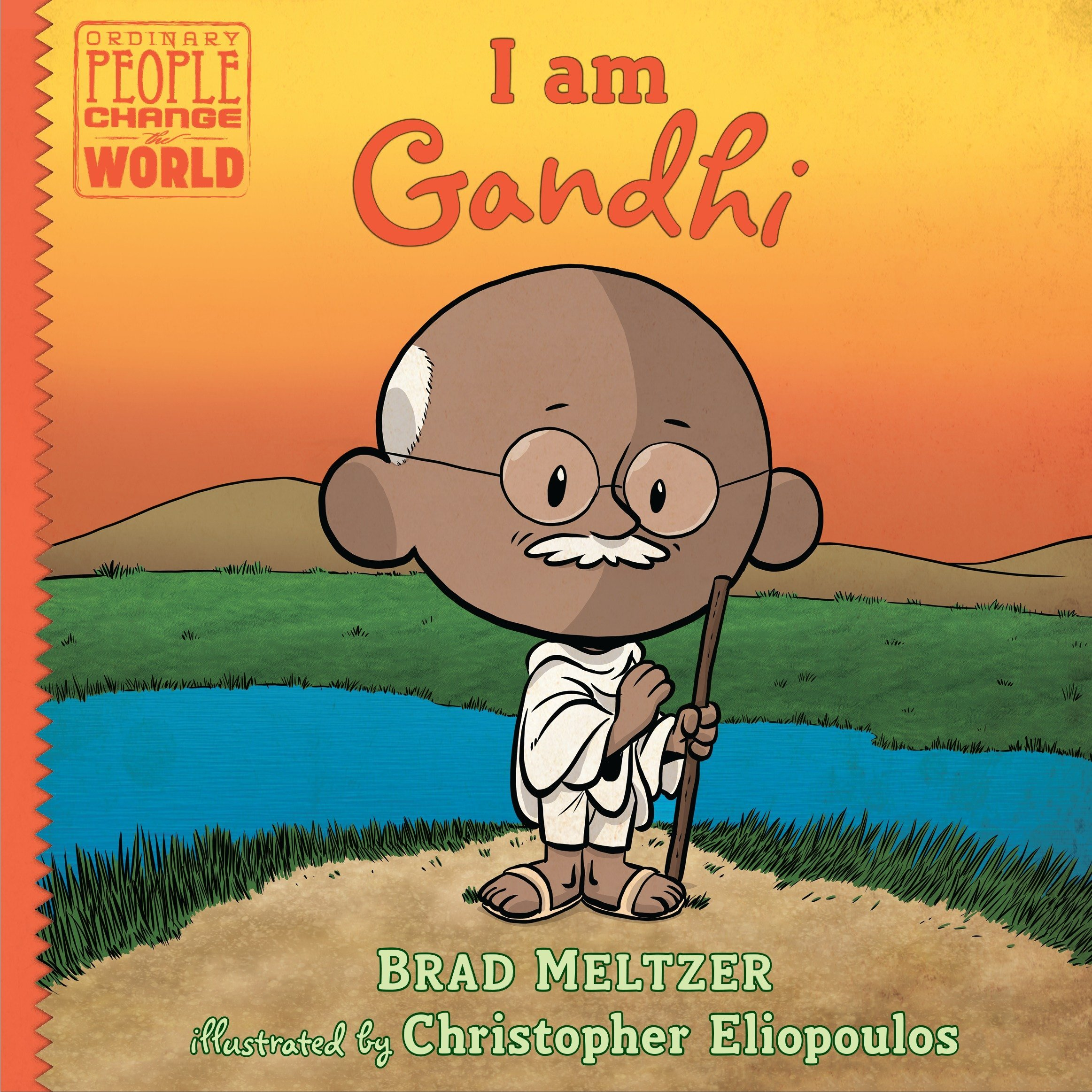 I am Gandhi (Ordinary People Change the World) by Dial Books (Image #5)