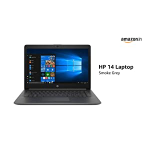 HP 14 Core i5 8th Gen 14-inch Thin and Light Laptop + Seagate Backup Plus Slim 2TB External Hard Drive