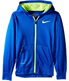 Nike Big Boys' (8-20) Therma-Fit KO 3.0 Full Zip Hoodie-Royal Blue-Small