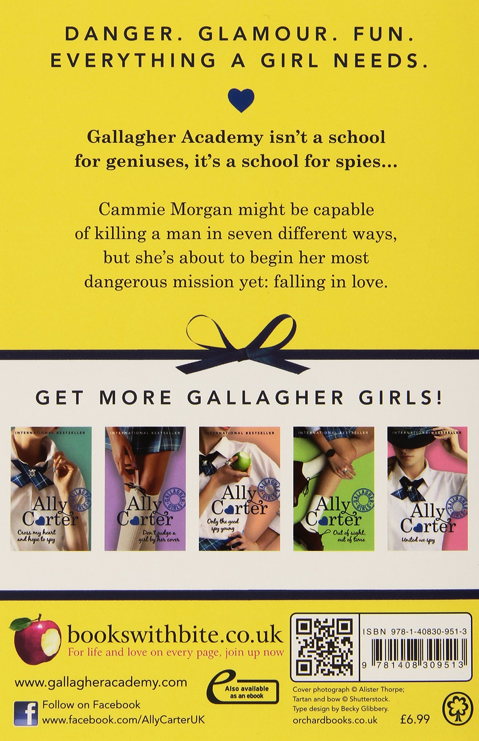 I'd Tell You I Love You, But Then I'd Have To Kill You: Book 1 (gallagher  Girls): Amazon: Ally Carter: 9781408309513: Books