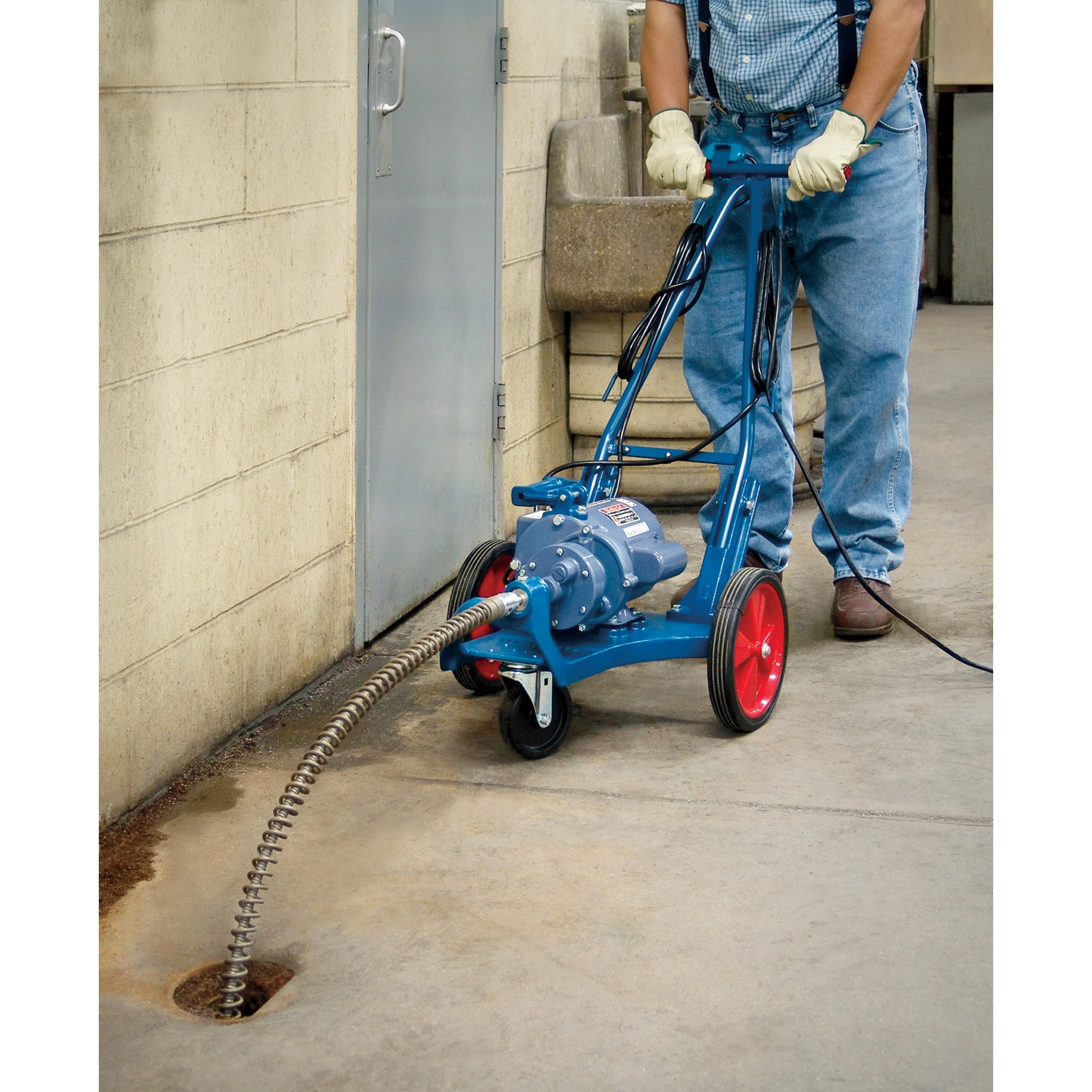 - Electric Eel Sectional Drain Cleaning Machine, Model# CK-1/2-8DC by Electric Eel