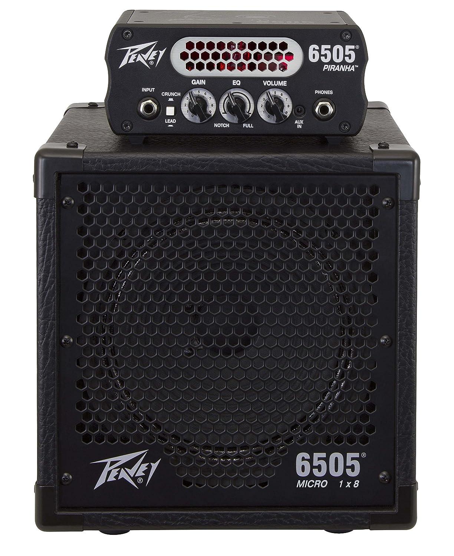 PEAVEY 6505 Piranha ギターアンプヘッド 専用キャビネット 2点セット 【国内正規品】   B079SCWY57