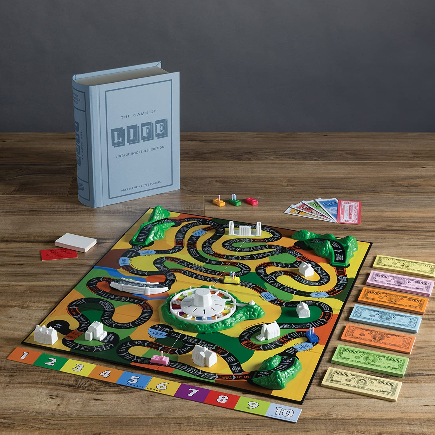 Amazon Winning Solutions Life Linen Book Vintage Edition Board Games Toys