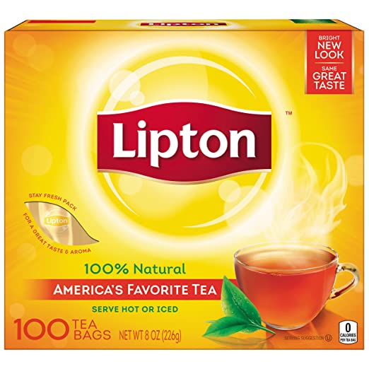 Lipton loss weight tea