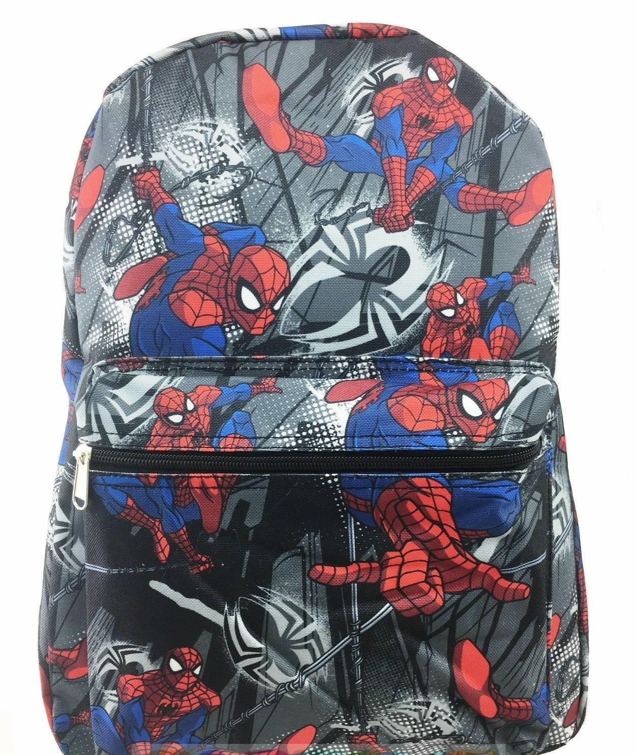 Spiderman Black Allover Print 16