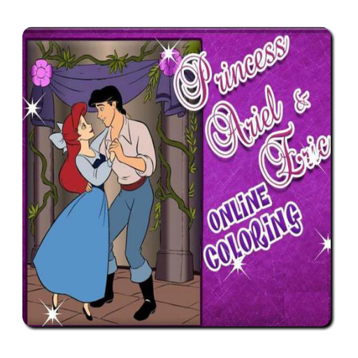 princess-ariel-and-eric-online-coloring-game