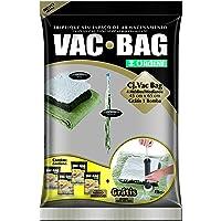Conjunto Vac Bag Com 4 Sacos Médios, Inclui Bomba, Ordene Br, Colorido
