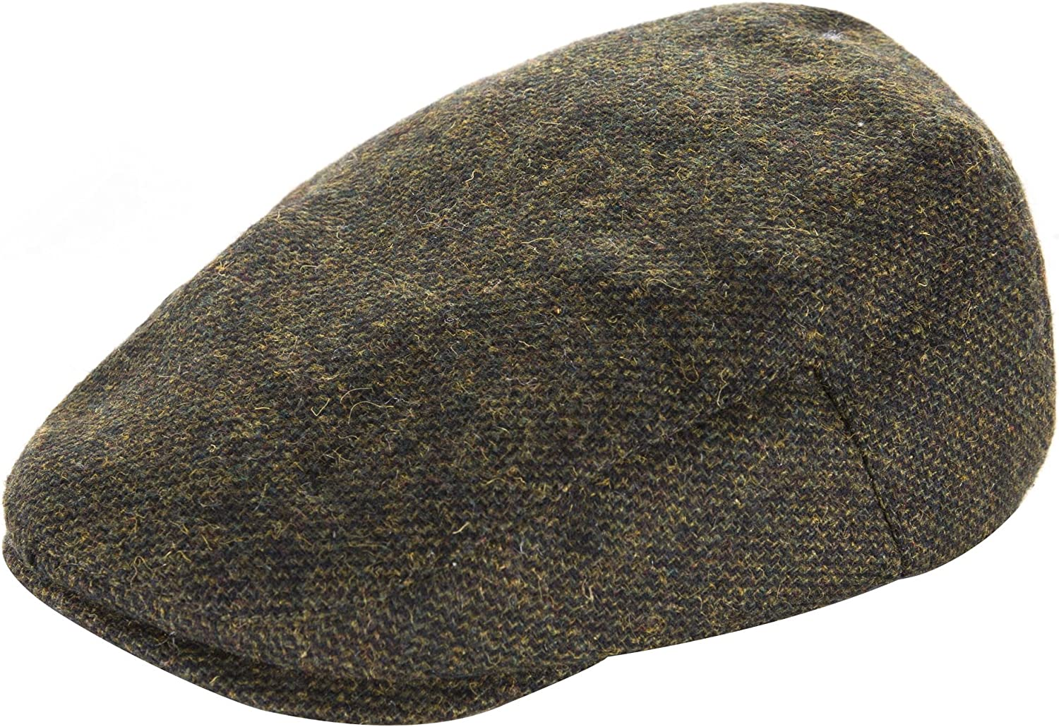 Heritage Traditions Kids Boys Classic Tweed Flat Cap Hat