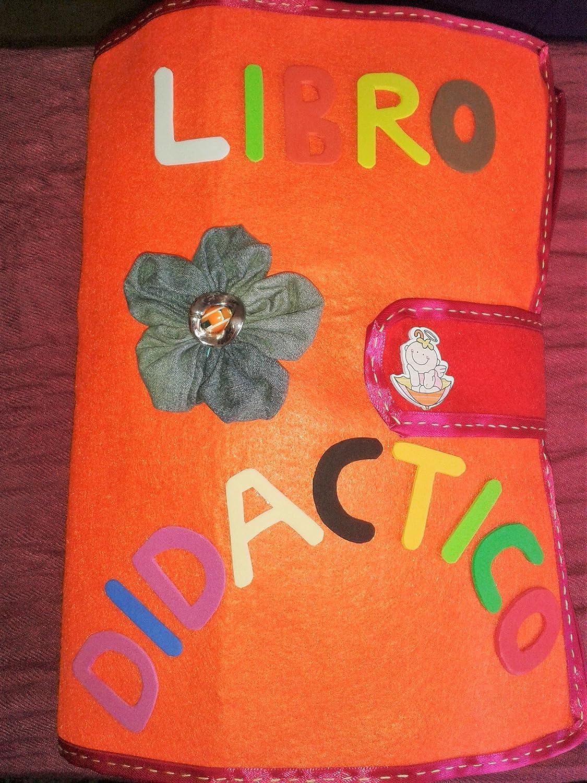 Libro didáctico - Libro sensorial- Libro de actividades ...