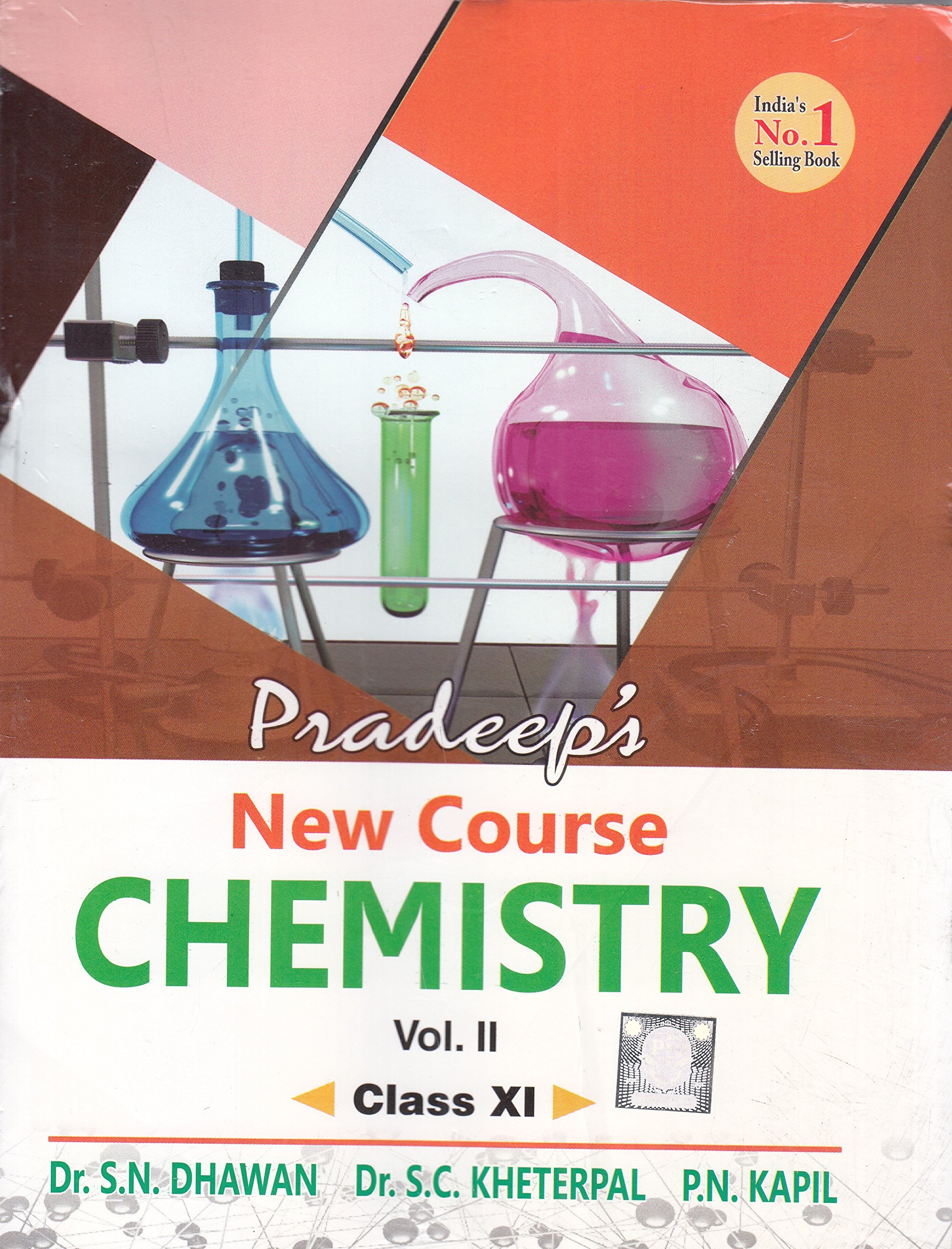 Pradeep's New Course Chemistry for Class 11 - Vol  1 & 2