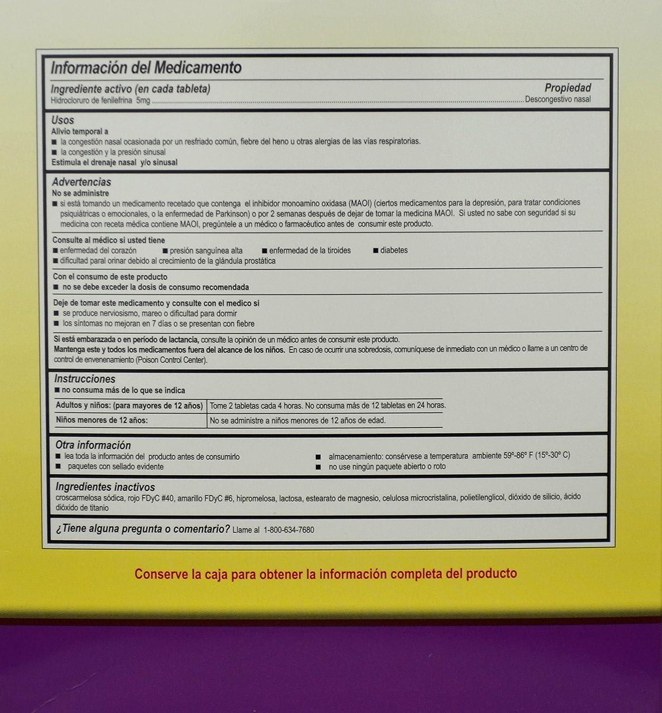 Amazon.com: MEDI PHENYL 20513 Medi-Phenyl Tablet 5mg PK500 WLM: Health & Personal Care