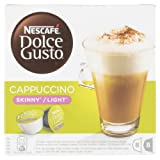 Nescafe Dolce Gusto Cappuccino Skinny/Light 8 Drinks - Pack of 3 (Total 48 Capsules, 24 Servings)