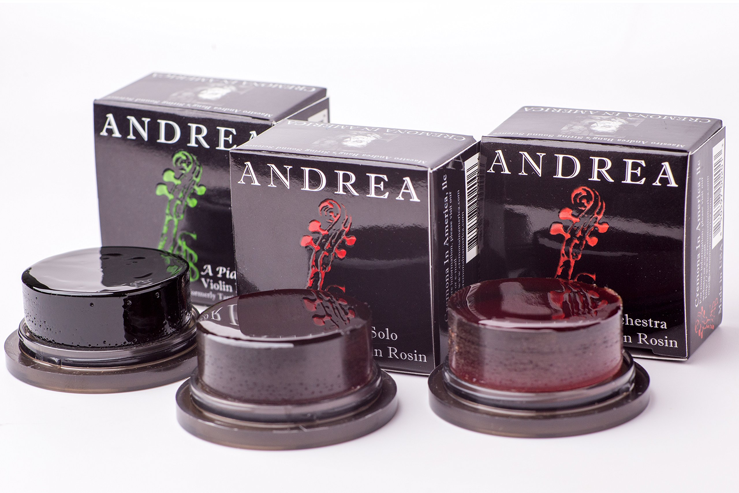 Andrea Rosin Gift Pack with A Solo, A Piacere and A Orchestra