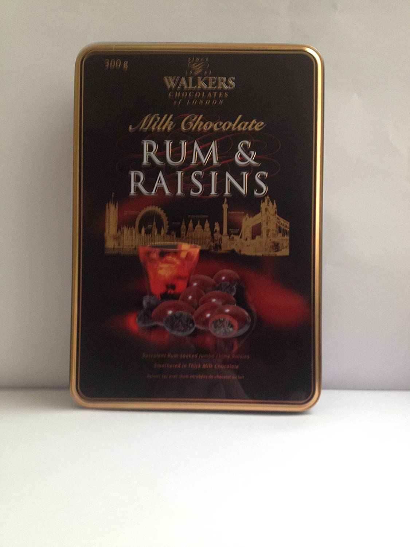 Leche Chocolate Ron y Pasas 300g lata: Amazon.es ...