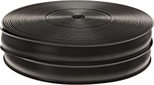 RV Designer E469, Heavy Duty Vinyl Insert Trim, 1 inch Wide, 100 foot Roll, Black