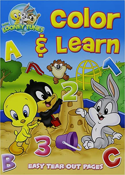 - Amazon.com: Baby Looney Tunes Coloring And Activity Book (2 Pack): Toys &  Games