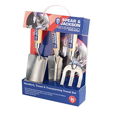 Spear & Jackson 3056GS/12 3-Piece Never Bend Stainless Steel Gift Set