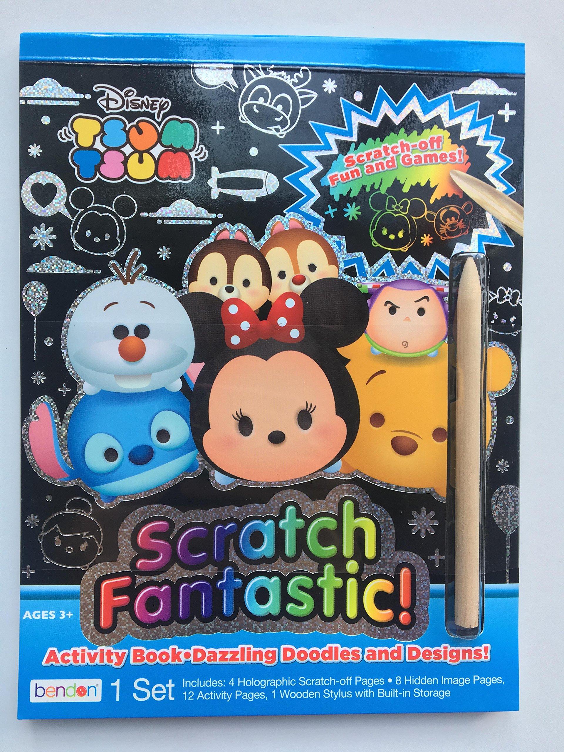 Disney Vampirina Scratch Fantastic Activity Book 12 Scratch-Off Activity Pages Bendon