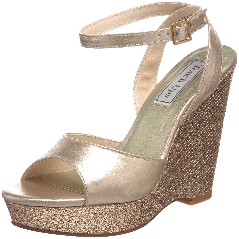 Touch Ups Women's Viviana Platform Sandal B0047ZD6MS 7 B(M) US Champagne