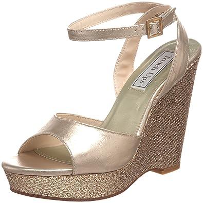 Touch Ups Women's Viviana Platform Sandal,Champagne,5 ...