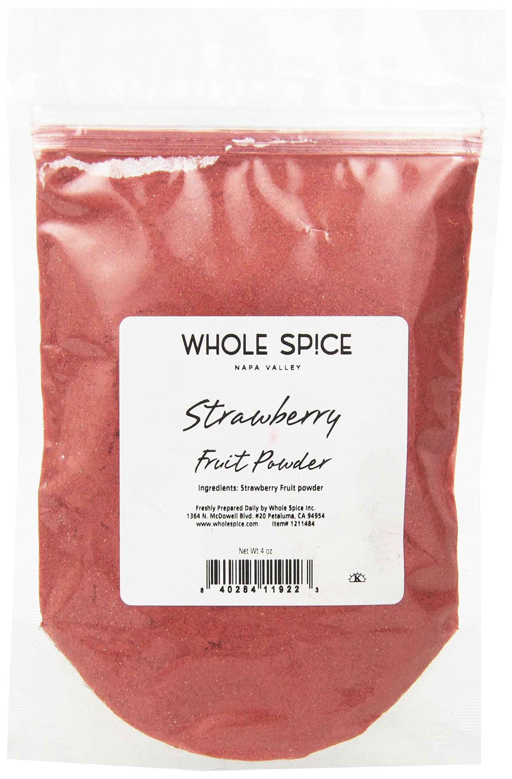 Whole Spice Strawberry Fruit Powder, 4 Ounce