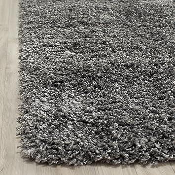 Beautiful Safavieh Cozy Dark Grey Shag Rug. This Grey Area Rug Brings Style And  Comfort To