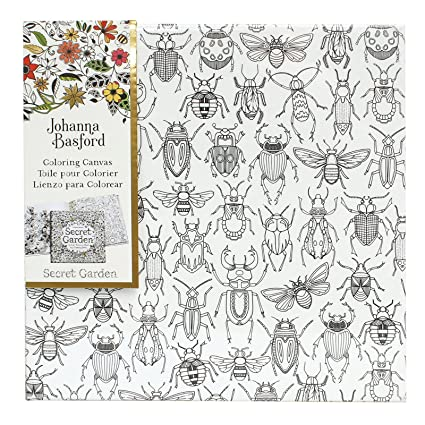 Johanna Basford Secret Garden Coloring Canvas