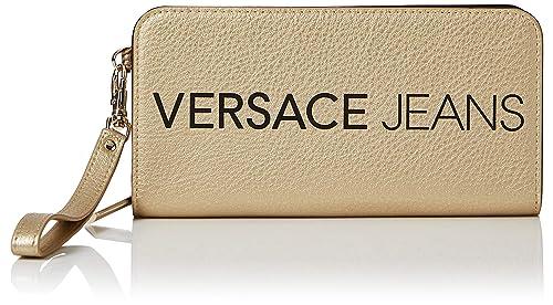 Versace Jeans - Ee3vsbpb1, Carteras Mujer, Dorado (Oro), 1.5x10.