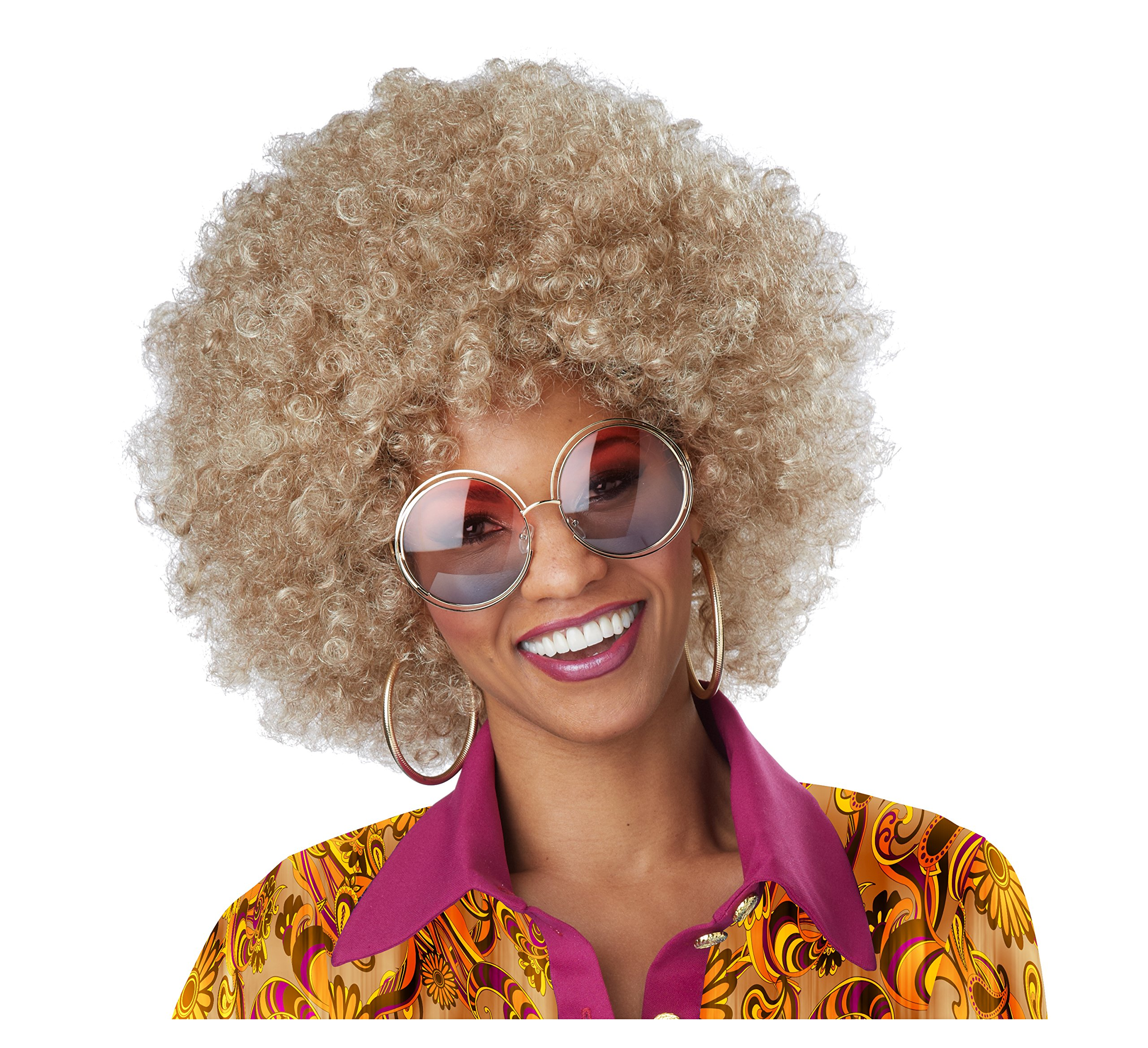 California Costumes Women's Dirty Blonde Foxy Lady Wig, One Size by California Costumes