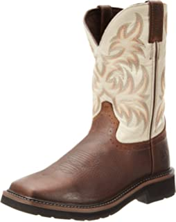 2261d43d8c2 Amazon.com | Justin Original Work Boots Men's Stampede Boot ...