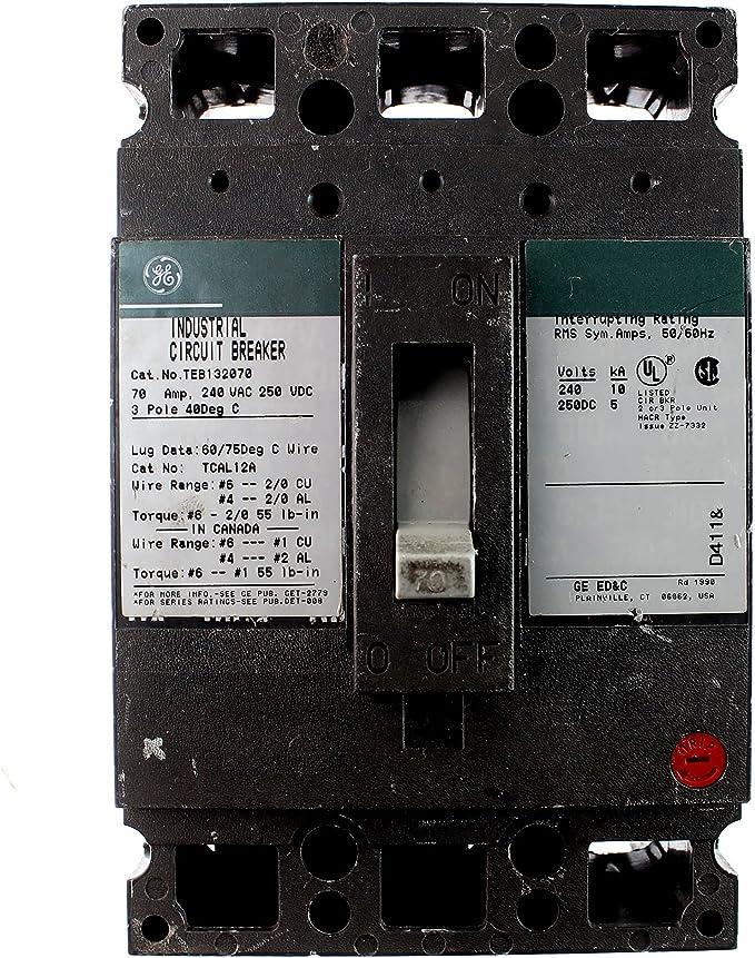 USED * GENERAL ELECTRIC TE122030 CIRCUIT BREAKER 30A