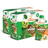 Happy Tot Organic Stage 4 Baby Food Love My Veggies Spinach Apple Sweet Potato & Kiwi, 4.22 Ounce Pouch (Pack of 16…