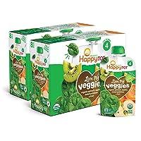 Happy Tot Organic Stage 4 Baby Food Love My Veggies Spinach Apple Sweet Potato &...