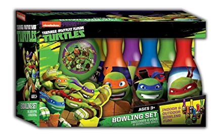 Amazon.com: Tortugas Ninja – Juego de bolos: Sports & Outdoors