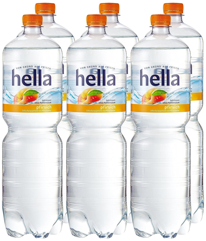 hella near water Pfirsich, 6er Pack (6 x 1.5 l): Amazon.de ...