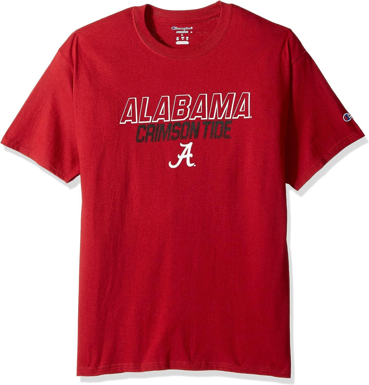 Champion NCAA Mens Short Sleeve Graphic T-Shirt Texas Tech Red Raiders X-Large