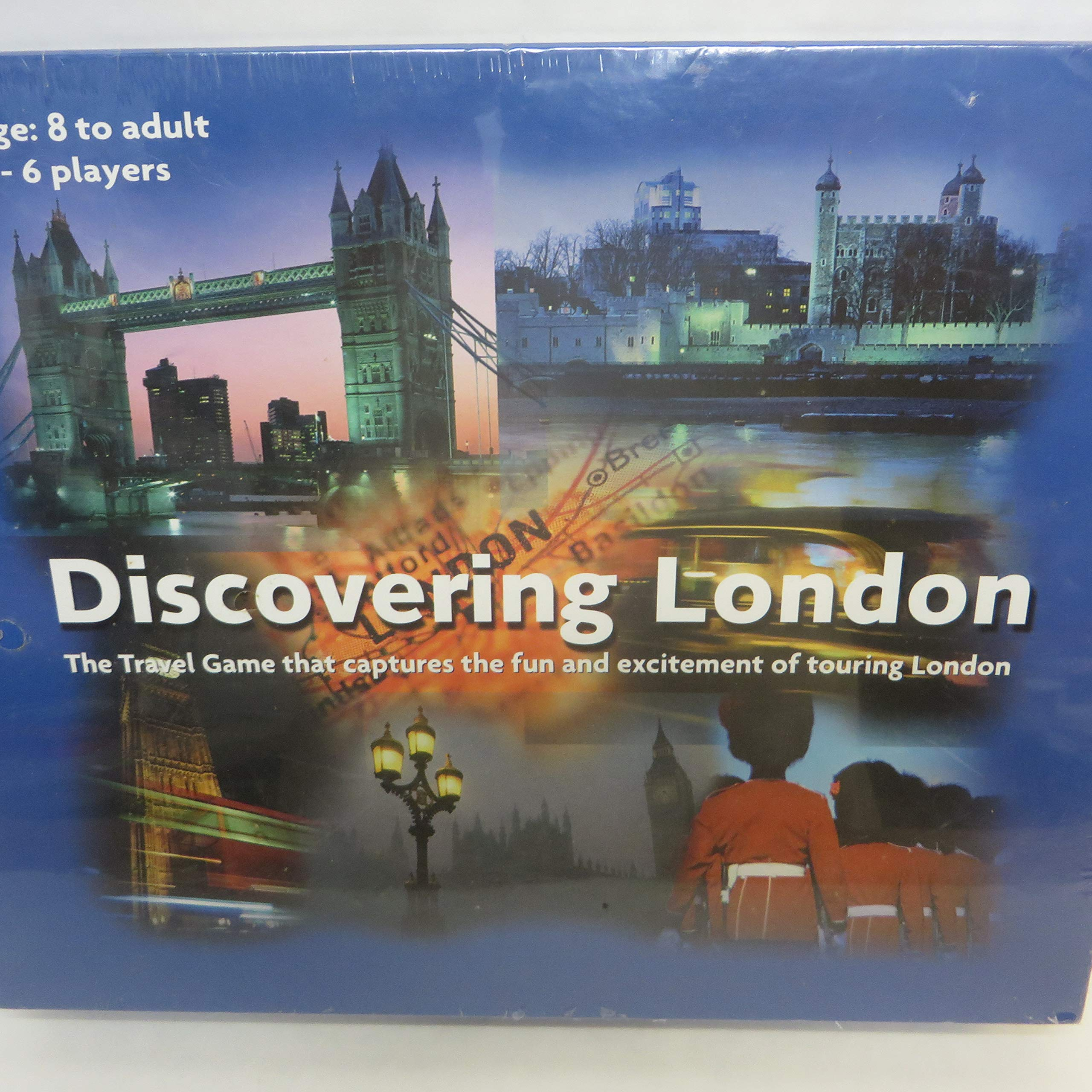 Discovering London: The Travel Game that Captures the Fun and Excitement of Touring London by Gosling Games Ltd. (Image #4)