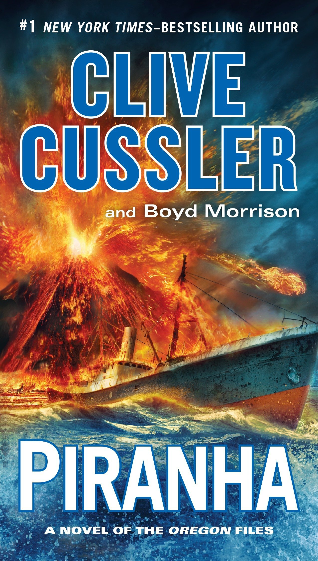 Amazon.com: Piranha (The Oregon Files) (9780425280188): Clive Cussler, Boyd  Morrison: Books