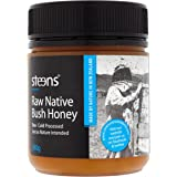 Steens Raw Native Bush Honey 12 ounce | Pure Raw Unpasteurized Honey From New Zealand | Typically a Blend of Manuka and Kanuka Honey | Traceability Code on Each Label