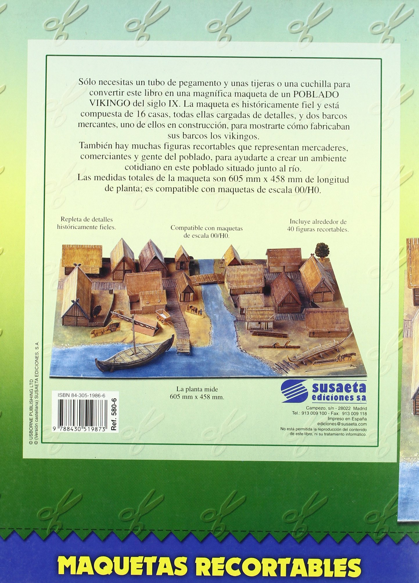 Poblado Vikingo (Maquetas Recortables): Amazon.es: Libros