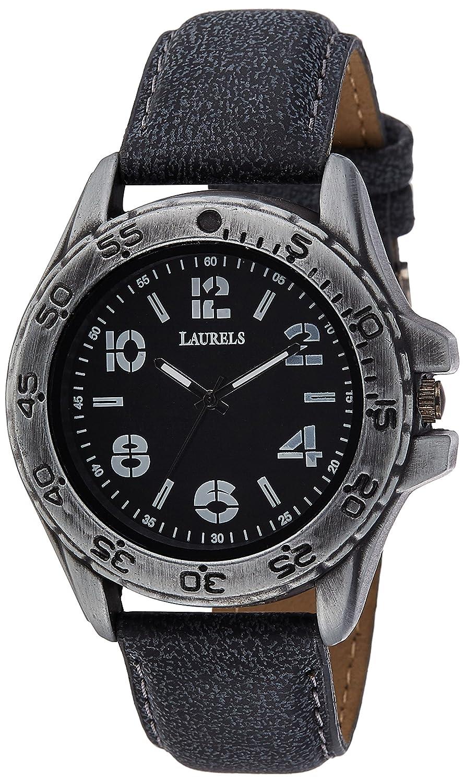 Laurels Mono Analog Black Dial Mens Watch - Lo-Mono-1