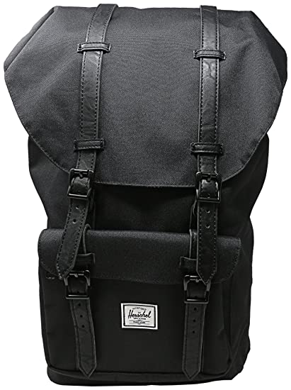 d3f11e7dcd1 Image Unavailable. Image not available for. Color  Herschel Classics Little  America 25 Litre Back Pack Black ...