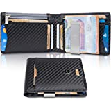 "TRAVANDO ® Wallet Mens with Money Clip ""Amsterdam"" RFID Blocking Slim Wallet   Credit Card Holder   Travel Wallet   Minimalist Mini Wallet Bifold for Men with Gift Box"