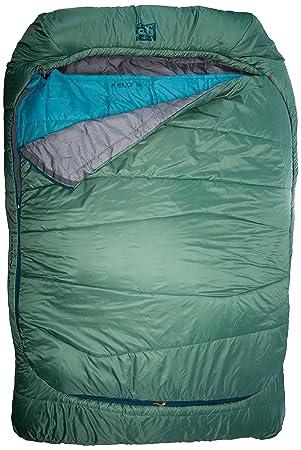 Comodidad Doublewide Saco de Dormir (-7 Grados), Verde, Doble: Amazon.es: Deportes y aire libre