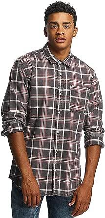 Jack & Jones Jorholden Shirt LS Camisa para Hombre
