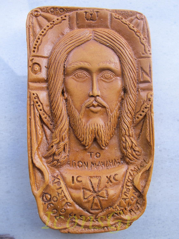 Handmade Carved Aromaticワックスから祝福アイコンアトスのマンディリオン125 B00J29CP1M