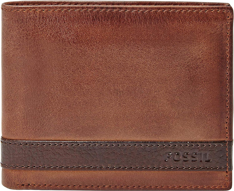 Fossil Men's Quinn Leather Bifold Wallet