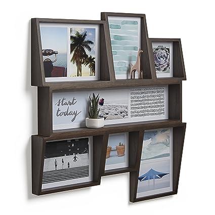 Amazon.com: Umbra Edge Multi-Photo Wall Display – Great Collage ...