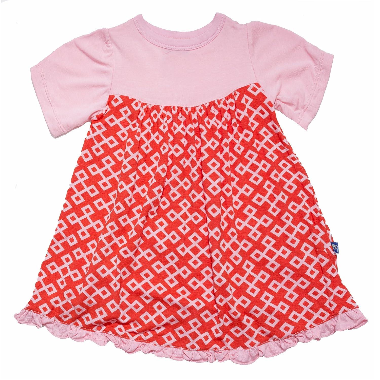 325df6c09997 Amazon.com  KicKee Pants Baby Girls  Print Swing Dress (Baby ...
